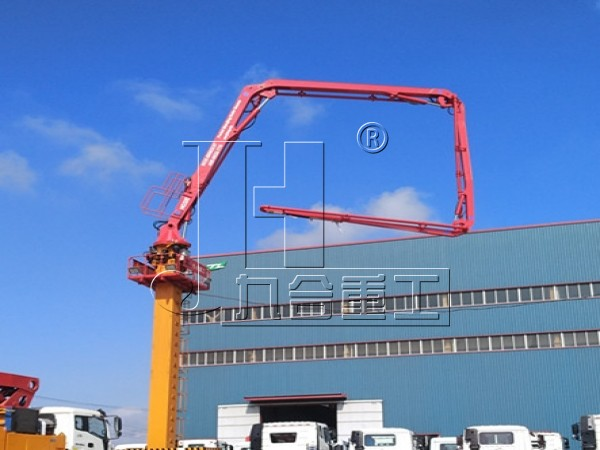 32m stationary self-climbing concrete placing boom