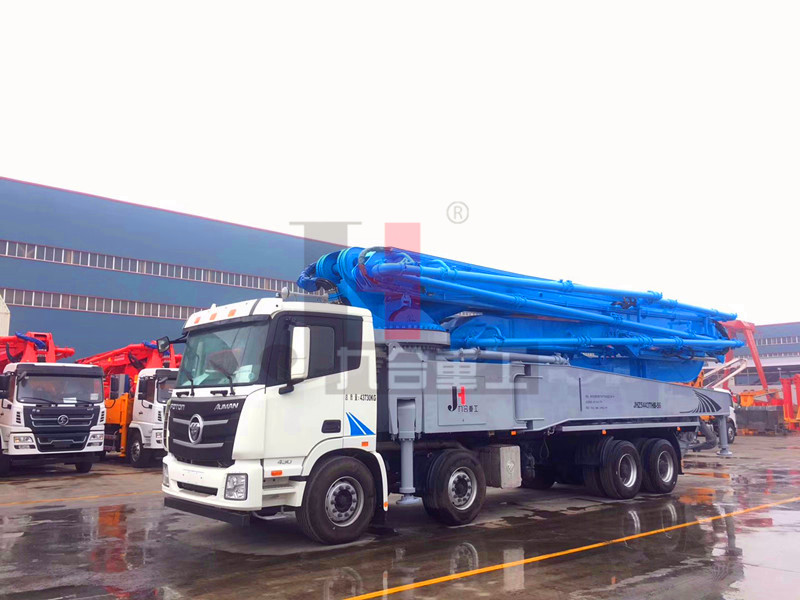 JH56-FOTON, 56m concrete boom pump truck with FOTON Chassis