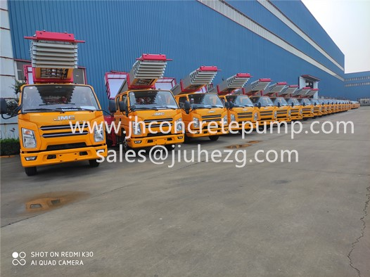 32m ladder truck construction material lifting truck
